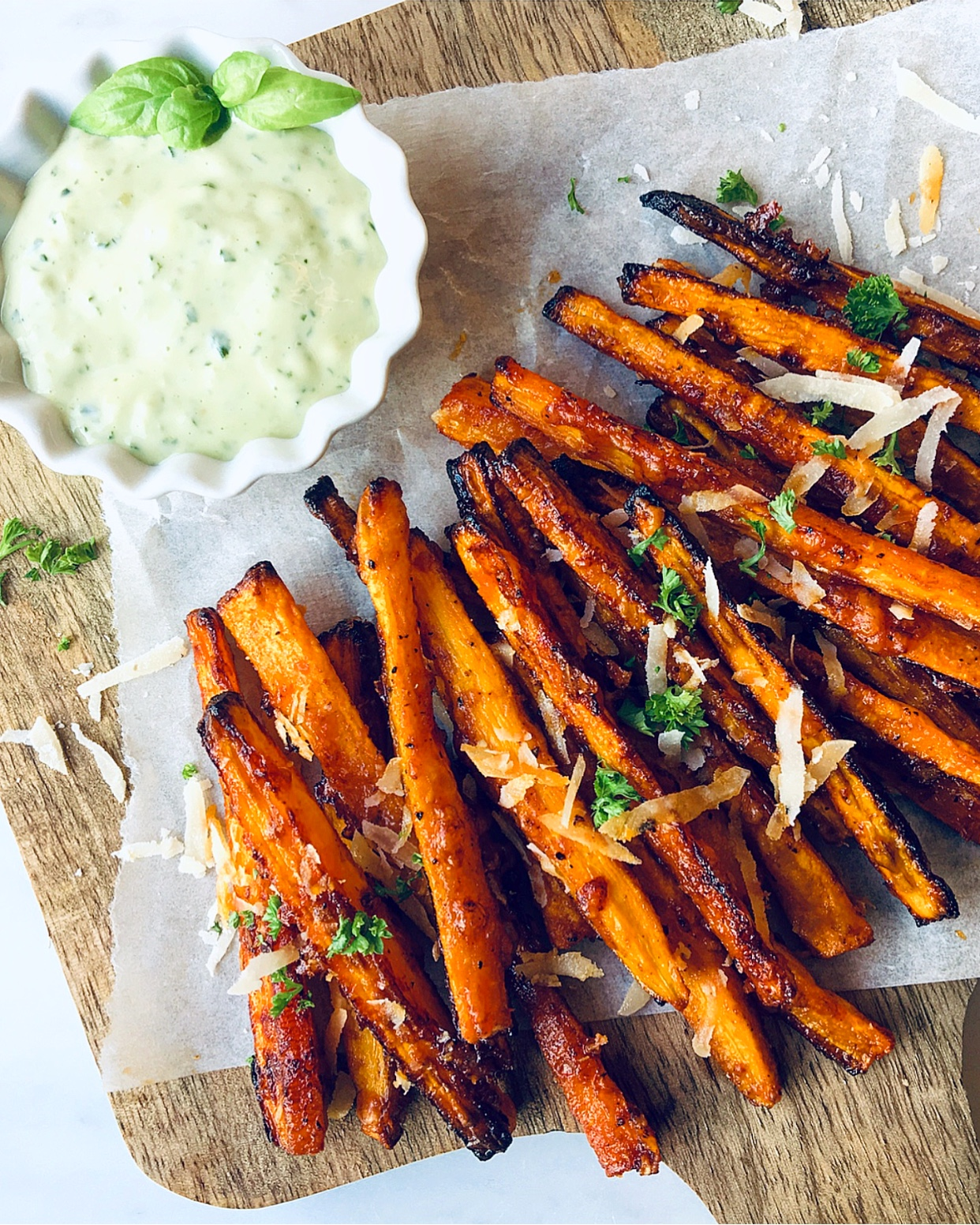 Crispy, delicious Carrot Fries - defo worth to try!