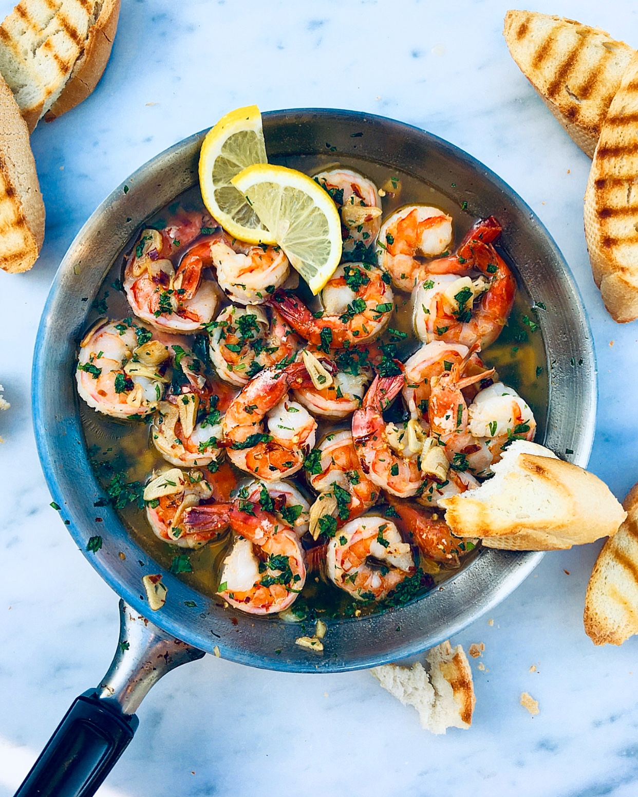 Gambas Al Ajillo Shrimp In Garlic Oil The Spiced Chickpea