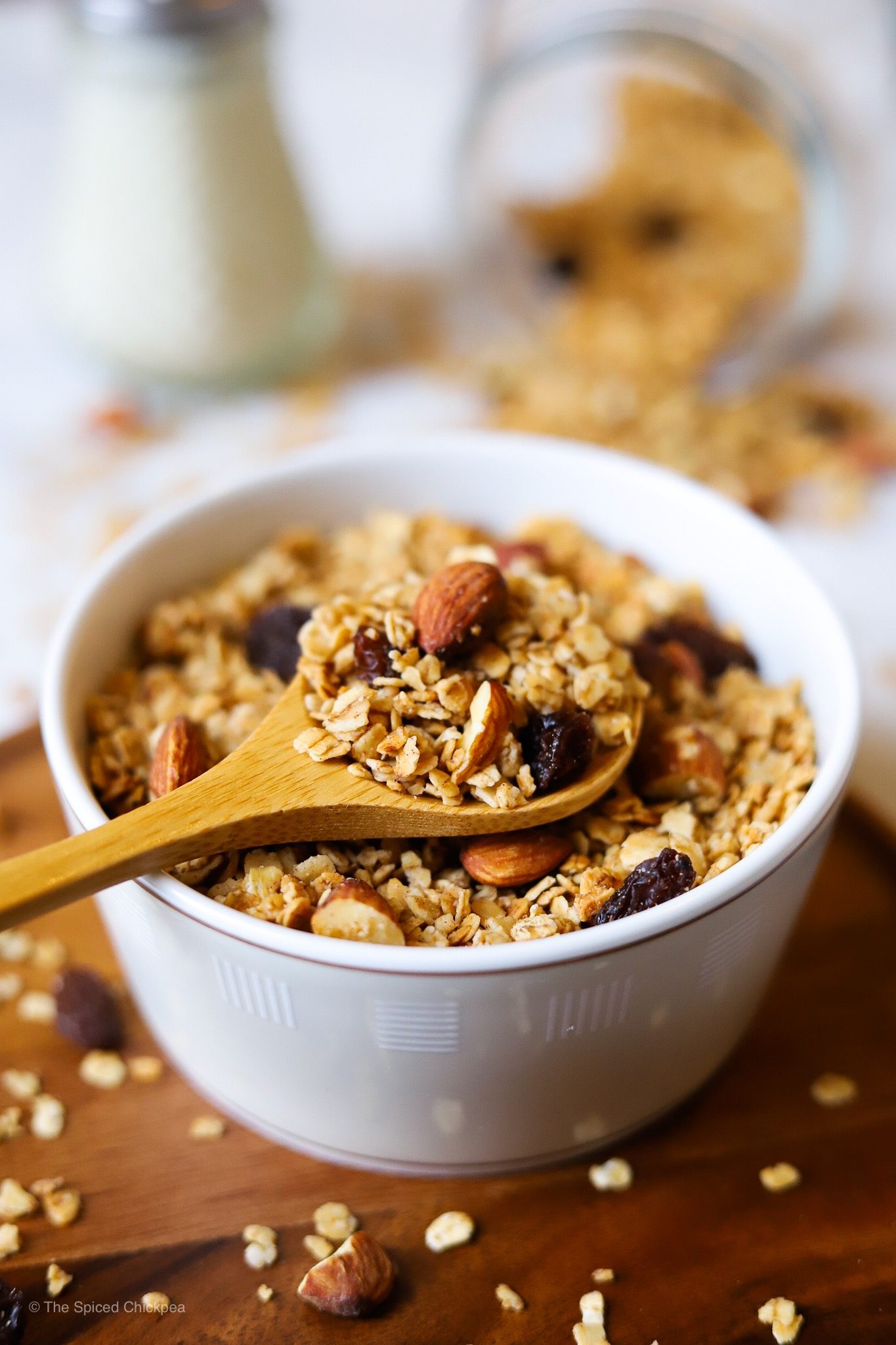 Add whatever mix-in to this Basic Granola recipe!