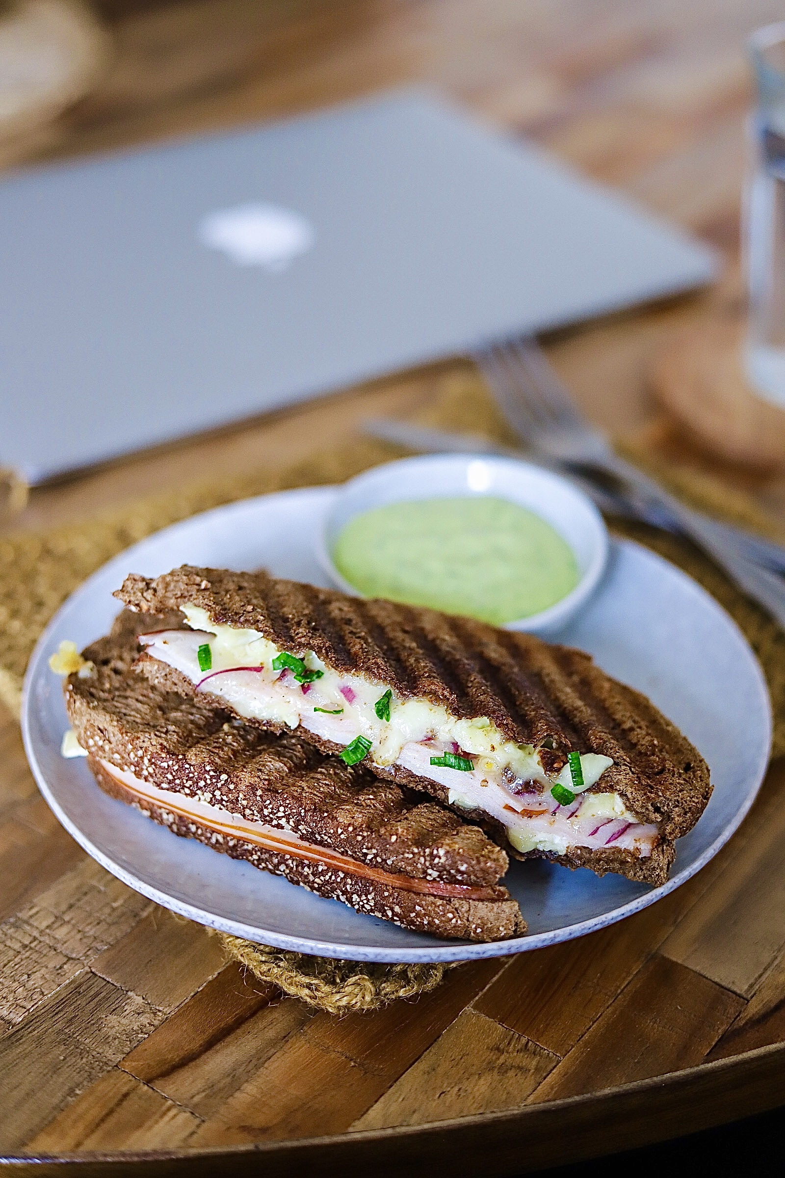Grilled sandwich are always a satisfying to eat as lunch. What about you?