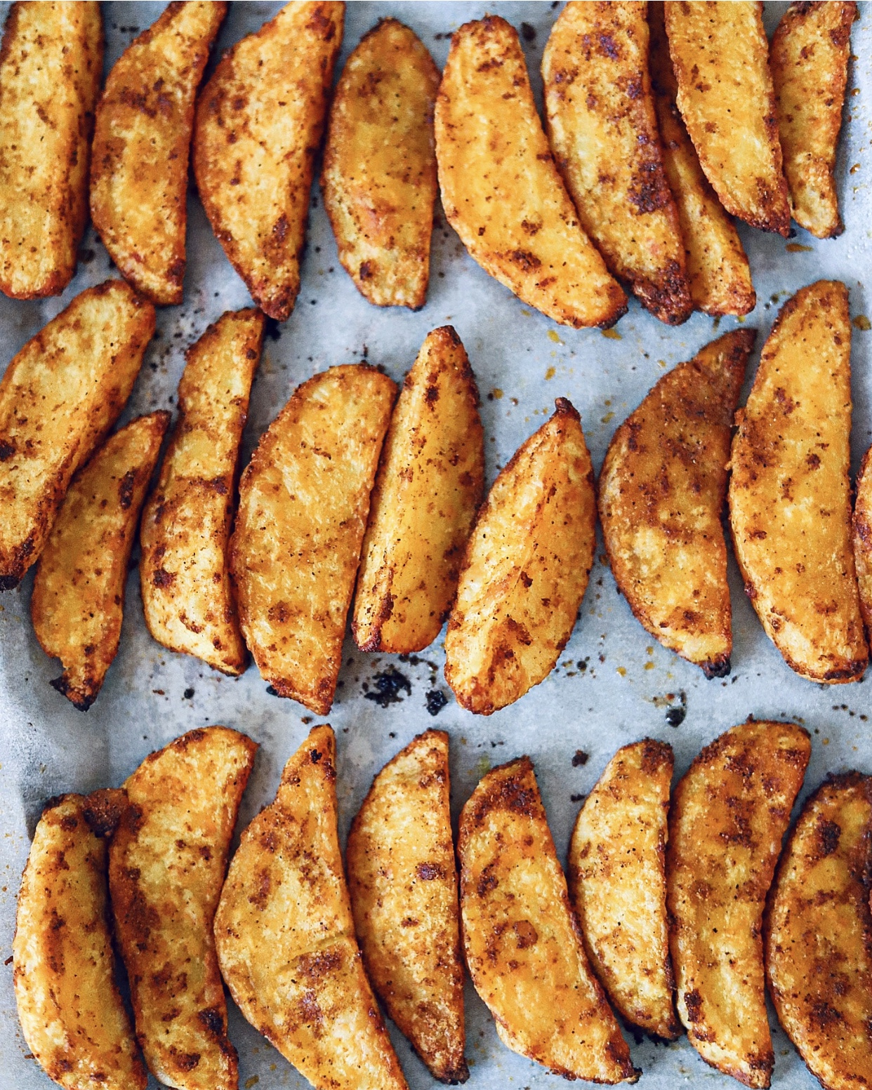 Are you ready for these Spicy Oven Baked Potato Wedges?